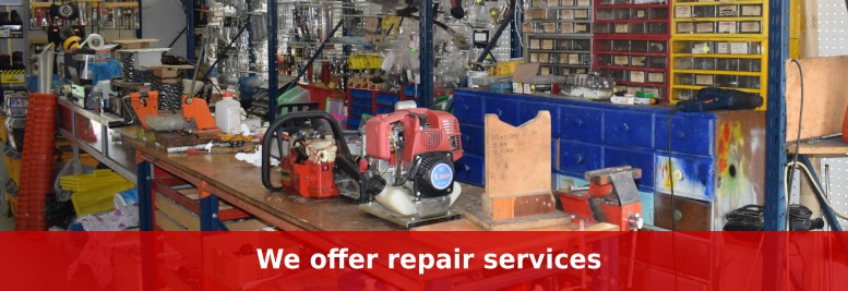 We offer repair services for almost any tool